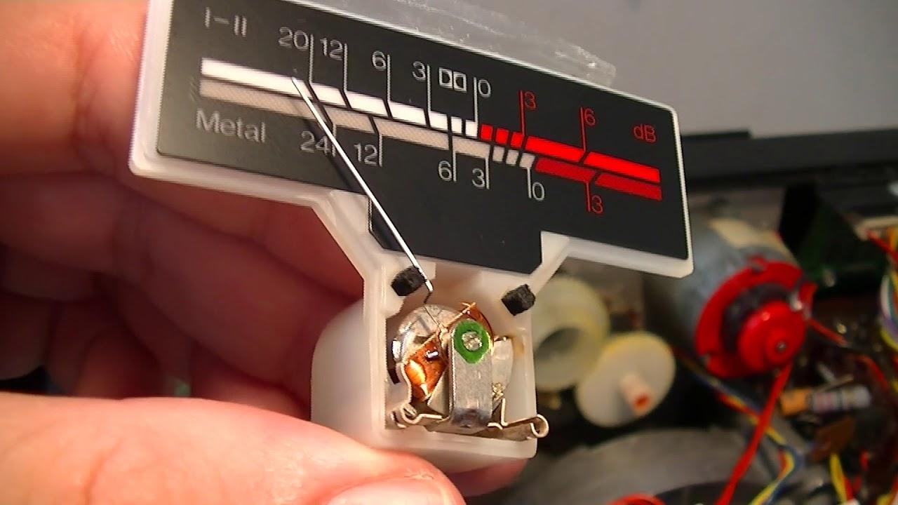 Fixing Tandberg 3014 vu meters - Nacho Pachés