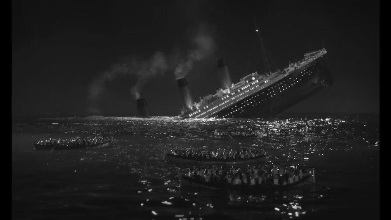 Download A Night to Remember (1958) #42 - The Titanic shuts down, then sinks