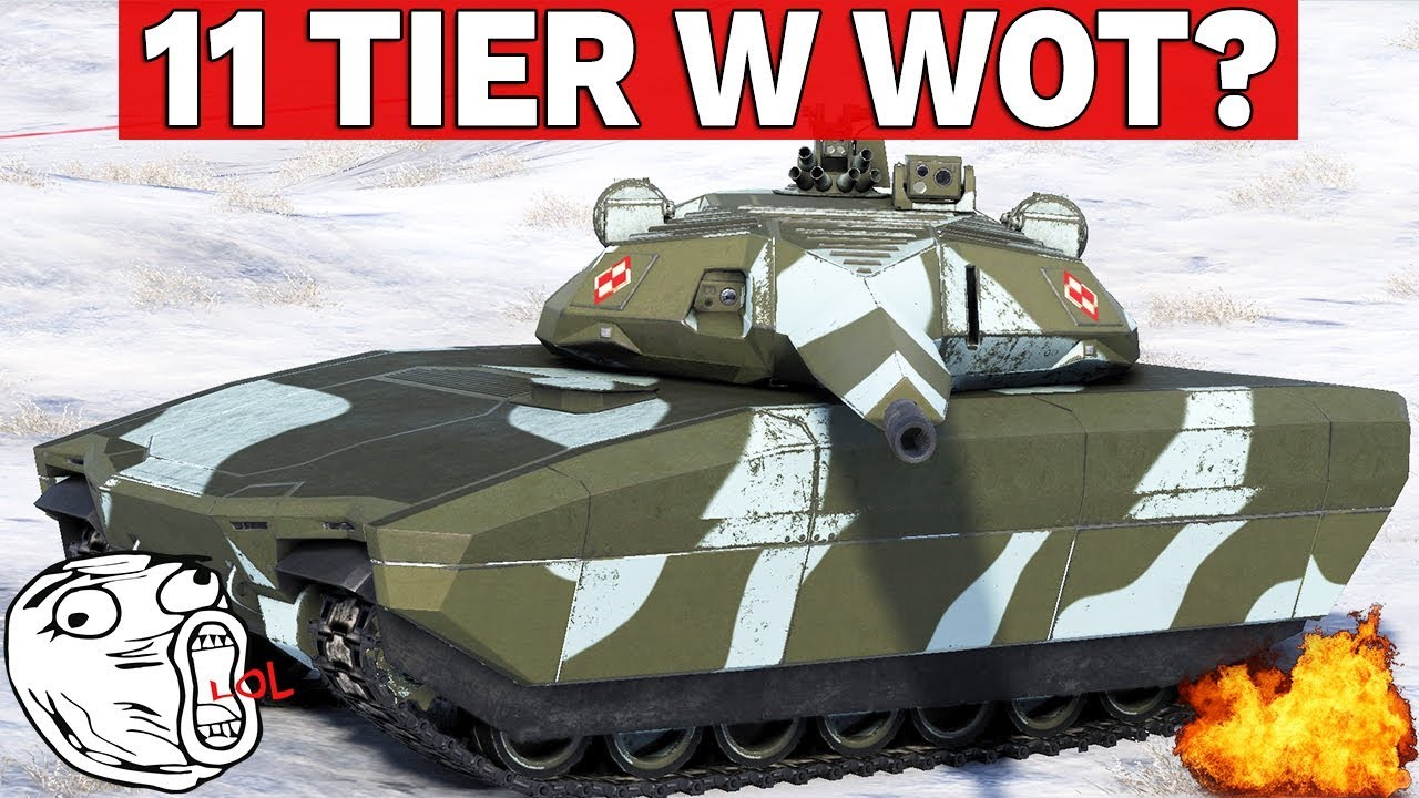 11 TIER W WORLD OF TANKS?