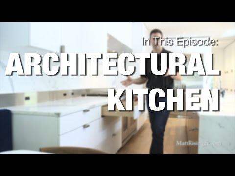 Modern Kitchen - Wood-Mode Cabinets & Sub-Zero Wolf Appliances Review