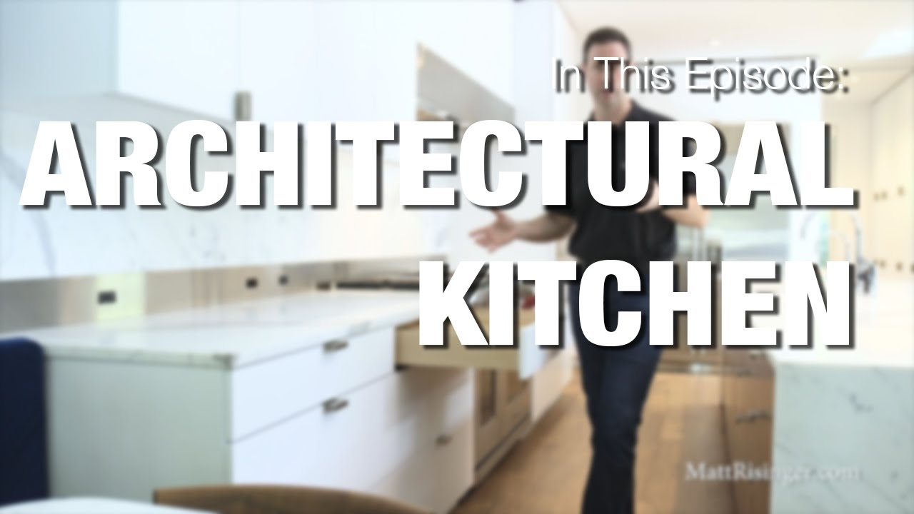 Modern Kitchen - Wood-Mode Cabinets & Sub-Zero Wolf Appliances Review
