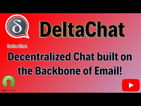 DeltaChat, a free, self hosted, open source chat based on the backbone of email with e2e encryption