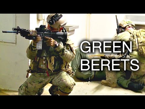 Army Special Forces Green Berets Close Quarters Combat Training