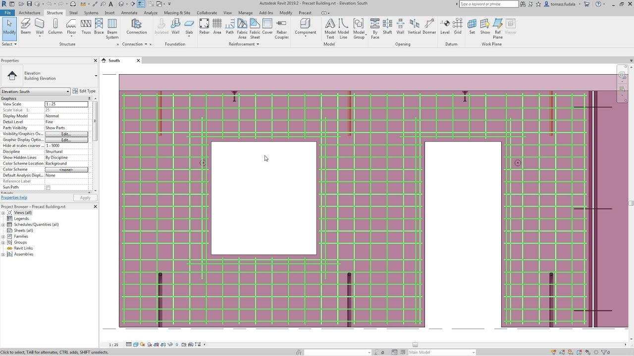 Revit 2019 2: Enhanced Custom Fabric Sheets Creation