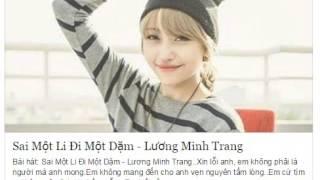 Sai Một Li, Đi Một Dặm - Lương Minh Trang ( cover by Ngân Ngốc Nghếch )