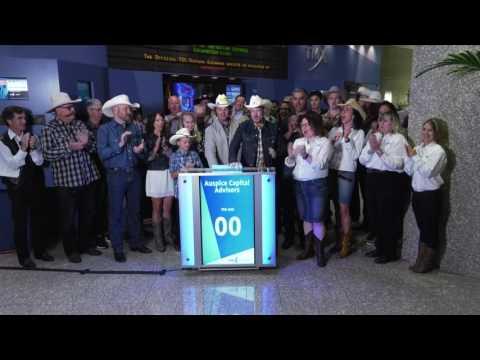 Auspice Capital Advisors opens Toronto Stock Exchange, July 13, 2017