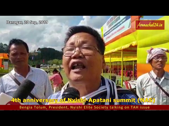 4th anniversary of Nyishi Apatani summit NAS