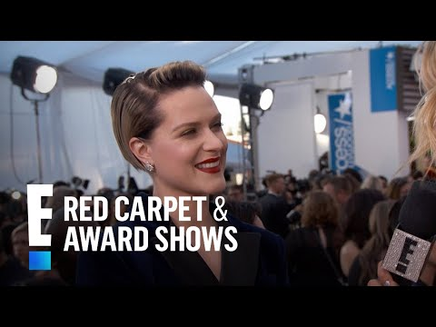 Why Evan Rachel Wood Wore a Suit to 2017 SAG Awards | E! Live from the Red Carpet