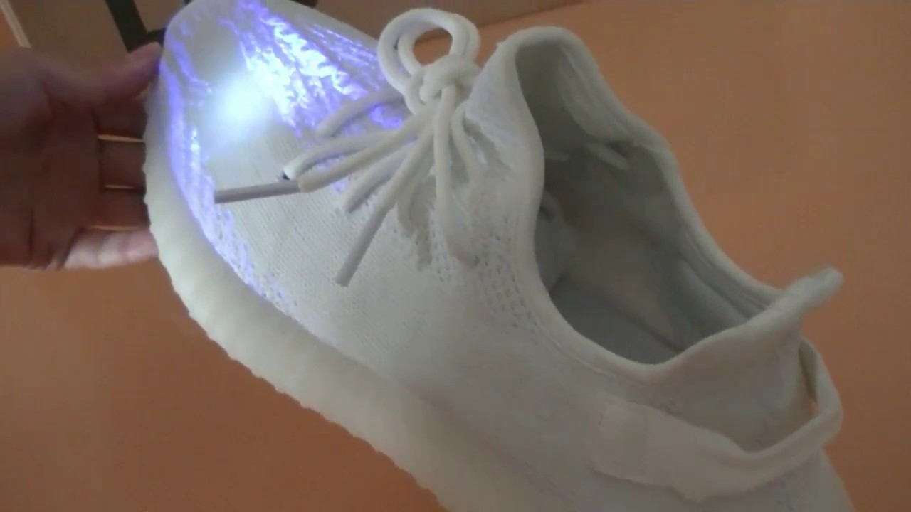 pretty nice 55e1b 0c30c yeezy boost 350 triple white video trainersoutlet