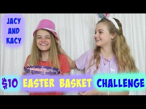 10 Dollar Easter Basket Challenge ~ Jacy and Kacy