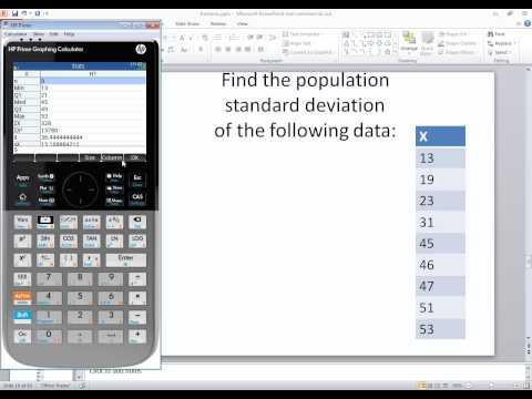 Cómo obtener medida dispersion(varianza , desviacion tipica...) con CASIO fx-570ES PLUS from YouTube · Duration:  1 minutes 55 seconds