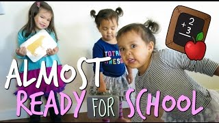 ALMOST READY FOR SCHOOL! -  ItsJudysLife Vlogs
