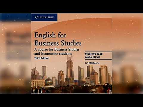 Cambridge English For Business Studies Student's Book 3rd Edition CD1