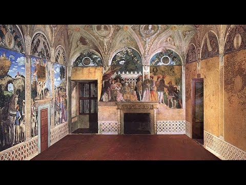 Mantova camera degli sposi andrea mantegna castello di for Mantova la camera degli sposi