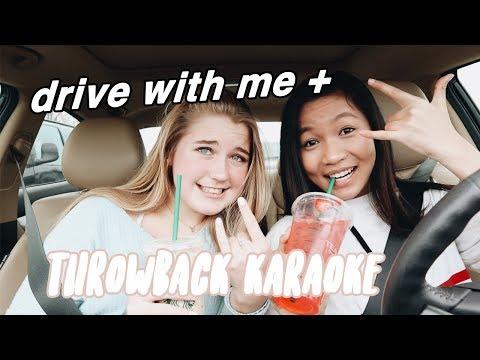 DRIVE WITH ME + throwback karaoke