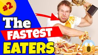 The Fastest Eaters Compilation #2 (Furious Pete)