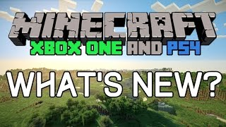 10 new things in minecraft xbox one ps4 edition