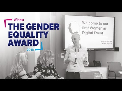 HMRC win The Gender Equality Award