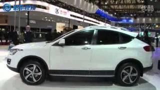 chinese car: FAW besturn X80 suv