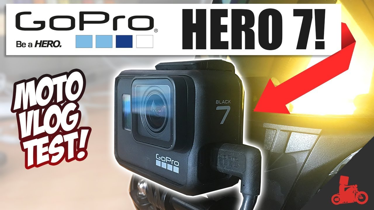 GoPro Hero 7 Black MOTOVLOG! Unboxing + Ride Test! - YouTube