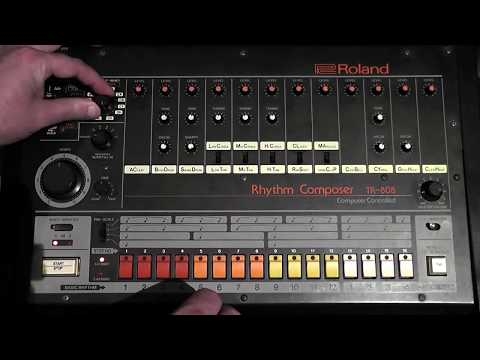 Learn how to program and use a Roland TR 808 Drum Machine