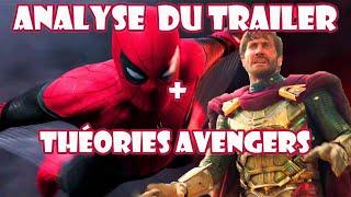 Spider-Man Far From Home : analyse du trailer + théories Avengers Endgame