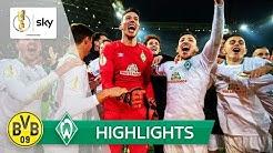 Borussia Dortmund - SV Werder Bremen 5:7 n.E. | Highlights - DFB-Pokal 2018/19 | Achtelfinale