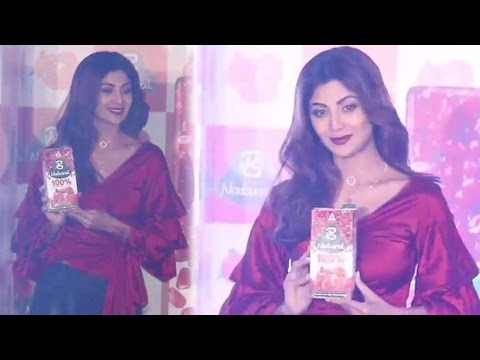 Shilpa Shetty Kundra Launches B Natural Pure Fruit Juices