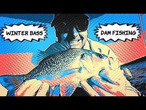 Winter Bass Dam Fishing.. Made Easy!