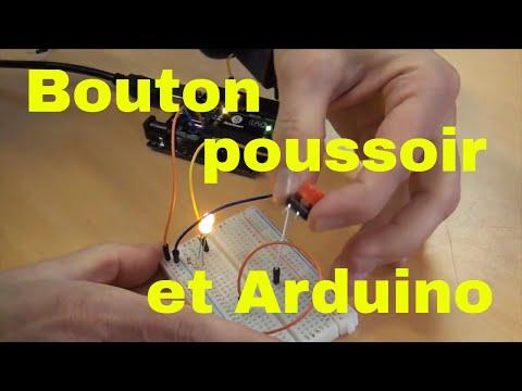 Arduino Bouton Poussoir En Entrée Numérique [digitalRead Mémorise L'etatBouton]