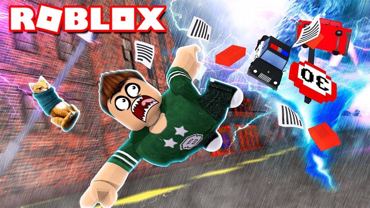 El Peor Dia De Mi Vida En Roblox Huracan Simulator Youtube