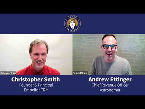 Be A Passionate Student - Andrew Ettinger, Chief Revenue Officer at Astronomer