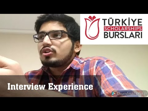 Türkiye burslari interview | Turkish scholarship interview experience