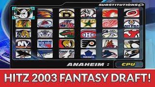 NHL HITZ 2003 FANTASY DRAFT CHALLENGE!!