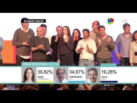 María Eugenia Vidal: Ganamos la provincia