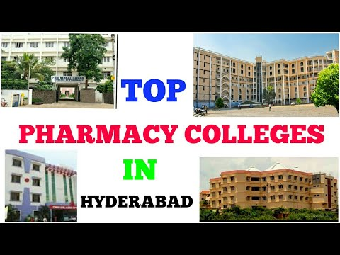 TOP PHARMACY COLLEGES   TS EAMCET 2018   HYDERABAD