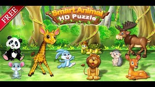 Animal Learning Puzzle Games - Kids Puzzle Games | Animals And Its Activity
