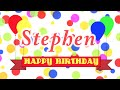 Happy birthday stephen song mp3