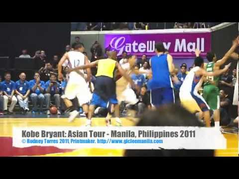 Kobe Bryant: (720p) Step Up Or Lose Out Asian Tour 2011 - Manila, Philippines