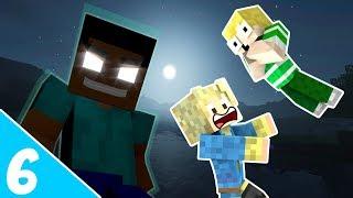 Dansk Minecraft - LuckyBlock Verden #6: HEROBRINE ER HER?!