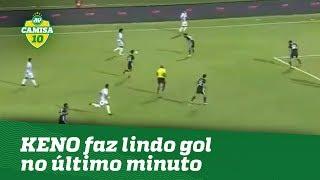 Hoje no Pyramids, do Egito, Keno fez um lindo gol no último minuto ...