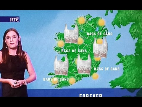 Irish Weather Forecast Gone Wrong