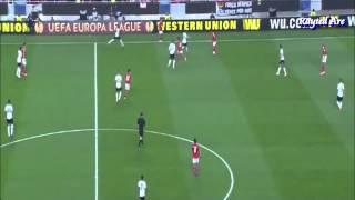 Eduardo Salvio (Benfica) vs Tottenham.
