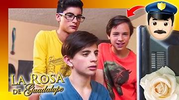 Joel y sus amigos empiezan a ver N0P0R.. (1/2) | REACCIONANDO A LA ROSA DE GUADALUPE