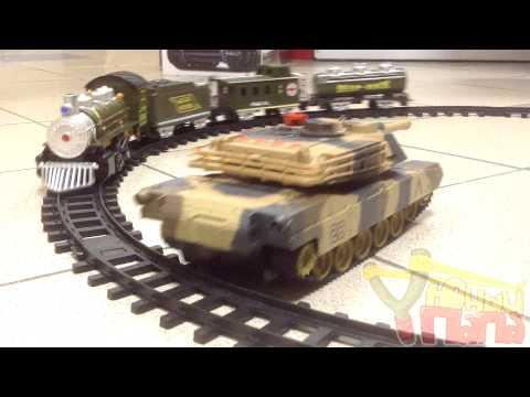 Детская железная дорога Huan Qi 3700-3A