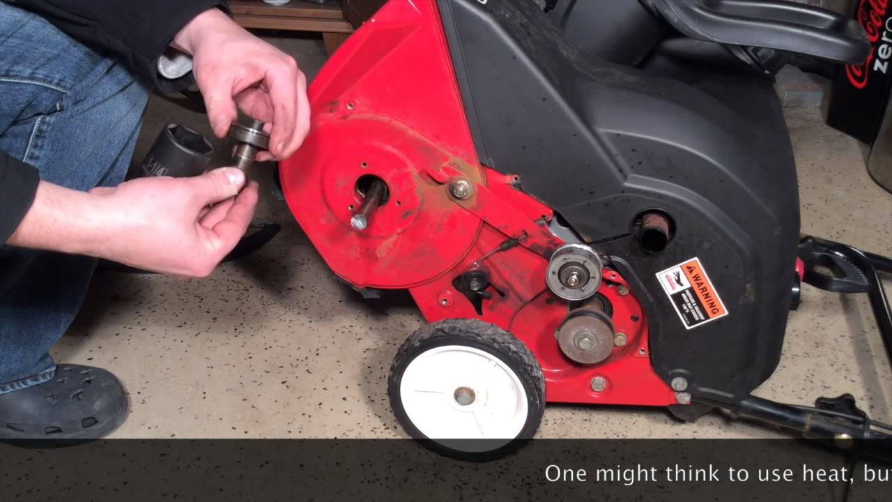 yard machine snow blower repair