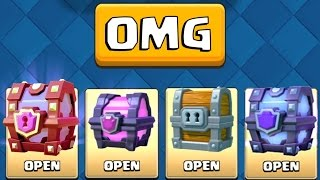 ALL AWESOME CHESTS IN CLASH ROYALE! :: Clash Royale :: SUPER MAGICAL CHEST OPENING