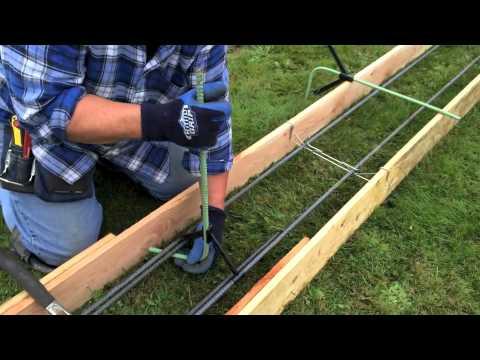Snap-R vertical hooks spreader cleats rebar hangers