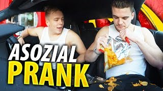McDonalds PRANK | Asozial PRANK im McDrive 😂