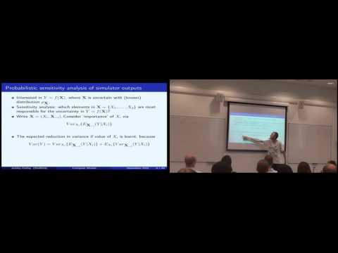 Jeremy Oakley: Introduction to Uncertainty Quantification and Gaussian Processes - GPSS 2016